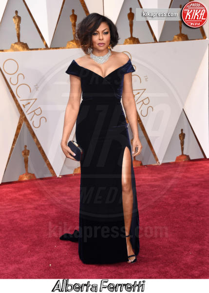 Taraji P. Henson - Hollywood - 26-02-2017 - Oscar 2017, gli stilisti sul red carpet