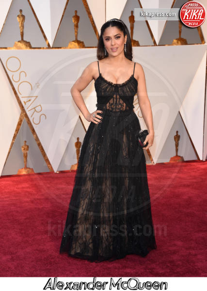 Salma Hayek - Hollywood - 26-02-2017 - Oscar 2017, gli stilisti sul red carpet