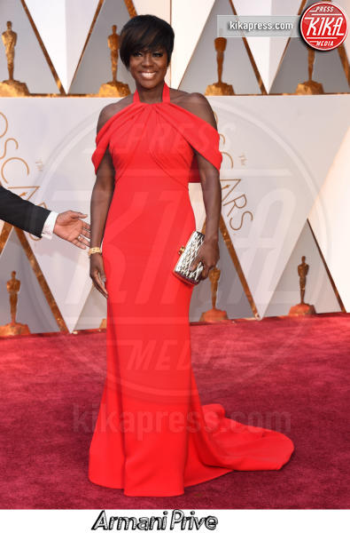 Viola Davis - Hollywood - 26-02-2017 - Oscar 2017, gli stilisti sul red carpet