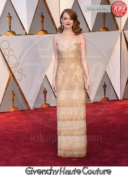 Emma Stone - Hollywood - 26-02-2017 - Oscar 2017, gli stilisti sul red carpet