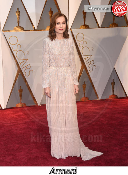 Isabelle Huppert - Hollywood - 26-02-2017 - Oscar 2017, gli stilisti sul red carpet