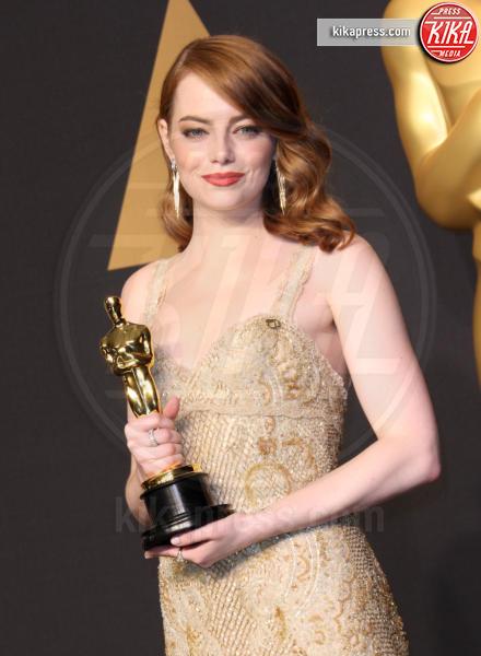 Emma Stone - Los Angeles - 26-02-2017 - Le star che non sapevate avessero detto: Social? No grazie!