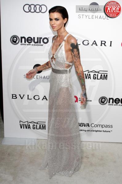 Ruby Rose - West Hollywood - 26-02-2017 - Oscar 2017: sexy spacchi e trasparenze al party di Elton John