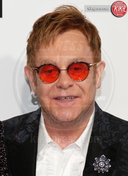 Elton John - West Hollywood - 26-02-2017 - Oscar 2017: sexy spacchi e trasparenze al party di Elton John