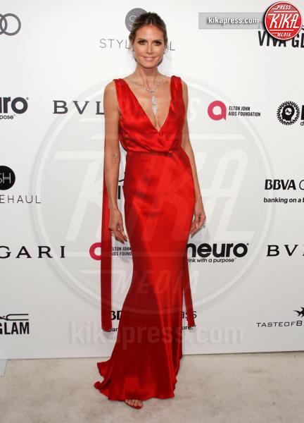 Heidi Klum - West Hollywood - 26-02-2017 - Oscar 2017: sexy spacchi e trasparenze al party di Elton John