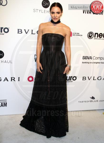 Katharine McPhee - Los Angeles - 26-02-2017 - Oscar 2017: sexy spacchi e trasparenze al party di Elton John