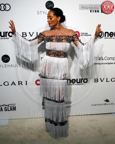 Tracee Ellis Ross - West Hollywood - 26-02-2017 - Oscar 2017: sexy spacchi e trasparenze al party di Elton John