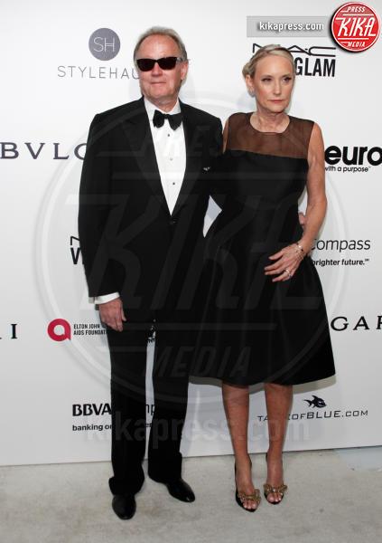 Peter Fonda - West Hollywood - 26-02-2017 - Oscar 2017: sexy spacchi e trasparenze al party di Elton John