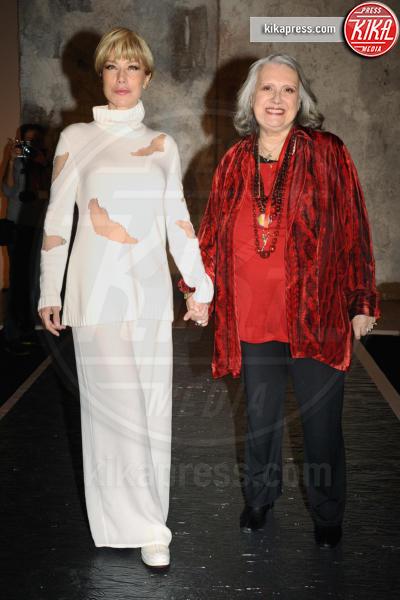 Laura Biagiotti, Nancy Brilli - Milano - 26-02-2017 - Lutto nel mondo della moda: è morta Laura Biagiotti