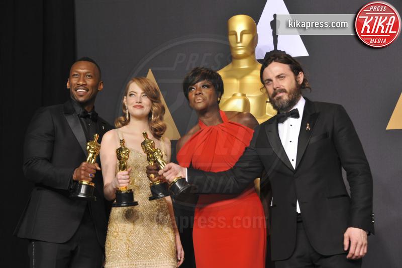 Mahersala Ali, Viola Davis, Emma Stone, Casey Affleck - Los Angeles - 27-02-2017 - True Detective is back: ecco chi sarà il nuovo protagonista