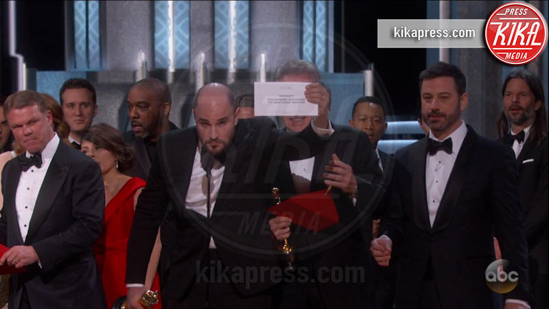 Brian Cullinan, Jordan Horowitz - Los Angeles - 26-02-2017 - Gaffe agli Oscar: ecco la foto del colpevole che... twittava!