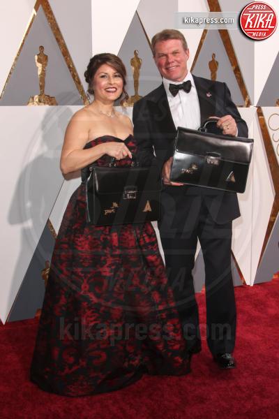 Martha Ruiz, Brian Cullinan - Los Angeles - 28-02-2016 - Gaffe agli Oscar: ecco la foto del colpevole che... twittava!