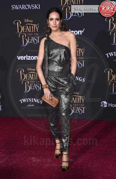 Louise Roe - Hollywood - 02-03-2017 - Emma Watson in nero alla première de La Bella e La Bestia