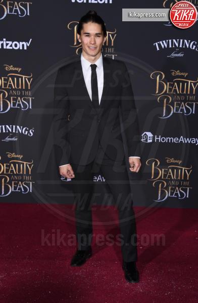Booboo Stewart - Hollywood - 02-03-2017 - Emma Watson in nero alla première de La Bella e La Bestia