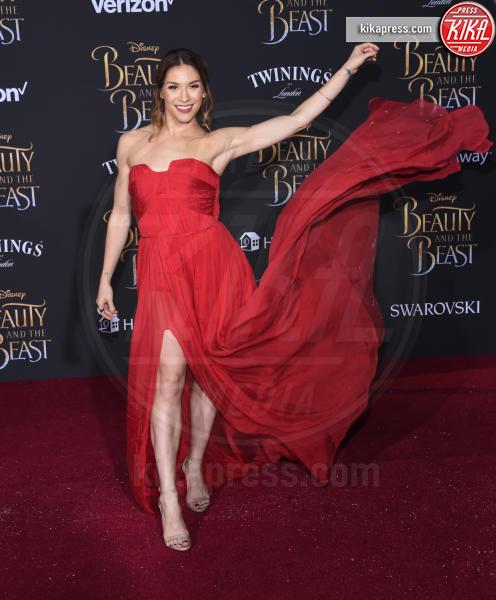 Allison Holker - Hollywood - 02-03-2017 - Emma Watson in nero alla première de La Bella e La Bestia