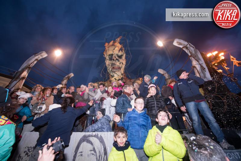 Frontiere - Viareggio - 05-03-2017 - Carnevale di Viareggio: vince Alessandro Avanzini con Frontiere