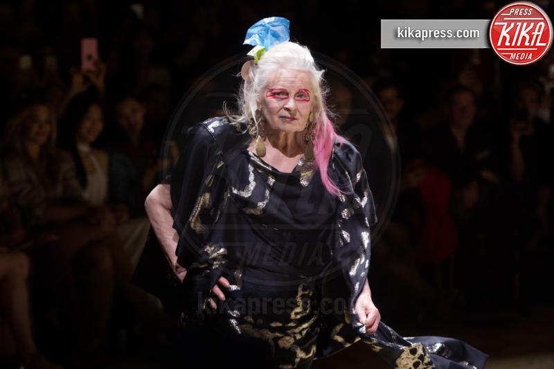 Vivienne Westwood - Parigi - 05-03-2017 - Paris Fashion Week: Vivienne Westwood sfila per il suo Andreas