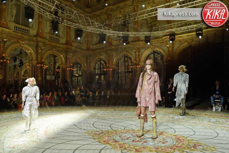 Sfilata Vivienne Westwood - Parigi - 05-03-2017 - Paris Fashion Week: Vivienne Westwood sfila per il suo Andreas