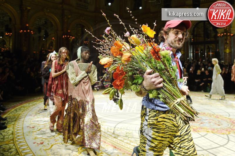 Andreas Kronthaler - Parigi - 05-03-2017 - Paris Fashion Week: Vivienne Westwood sfila per il suo Andreas