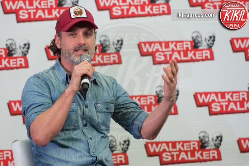 Andrew Lincoln - Londra - 04-03-2017 - The Walking Dead: il protagonista lascia la serie tv