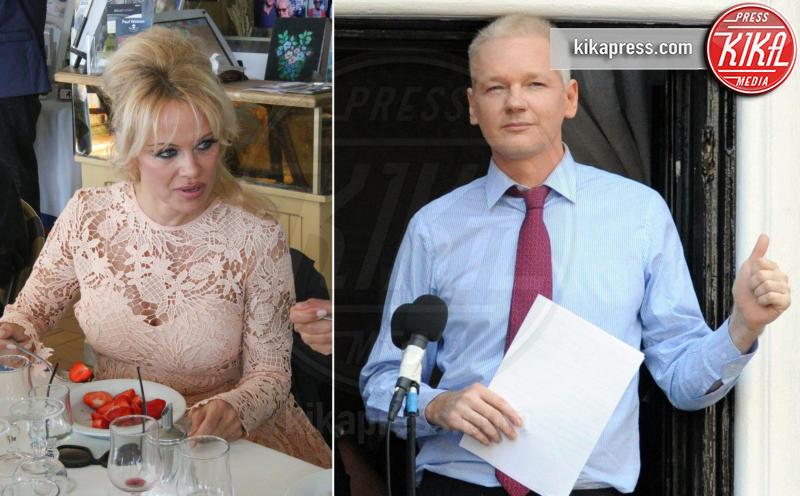 Julian Assange, Pamela Anderson - 06-03-2017 - Pamela Anderson a Verissimo, tra nozze, Metoo e Julian Assange