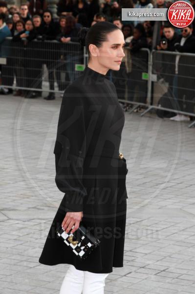 Jennifer Connelly - Parigi - 07-03-2017 - Paris Fashion Week, la sfilata dei vip en plein air!