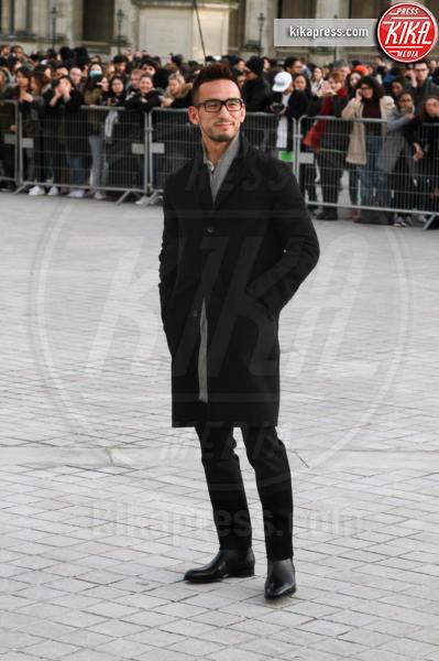 Hidetoshi Nakata - Parigi - 07-03-2017 - Paris Fashion Week, la sfilata dei vip en plein air!
