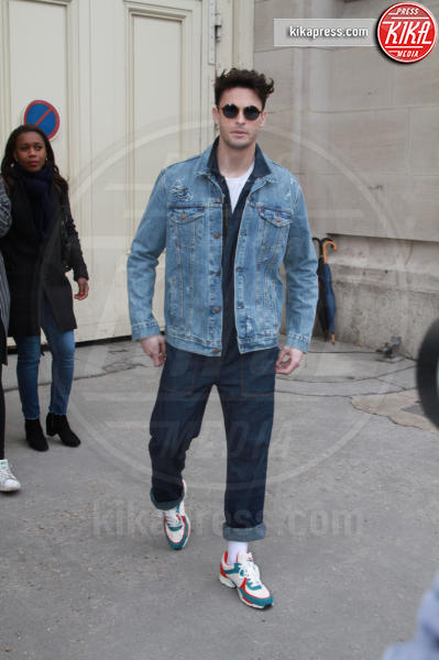 Baptiste Giabiconi - Parigi - 07-03-2017 - Paris Fashion Week, la sfilata dei vip en plein air!