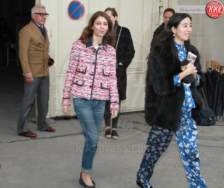Sofia Coppola - Parigi - 07-03-2017 - Paris Fashion Week, la sfilata dei vip en plein air!