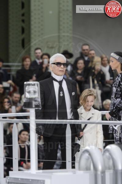 Sfilata Chanel, Karl Lagerfeld - Parigi - 07-03-2017 - Paris Fashion Week: la sfilata di  Chanel