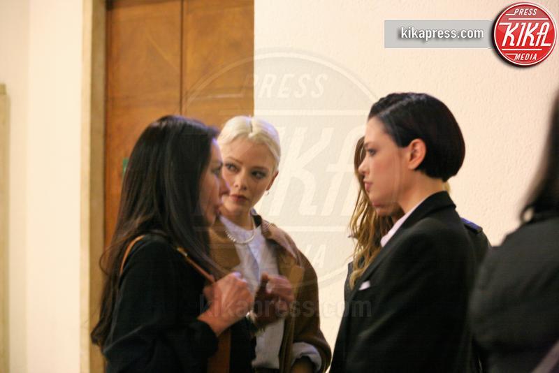 Silvia Provvedi, Giulia Provvedi - Milano - 09-03-2017 - Processo Corona: Silvia Provvedi svela la sua verità