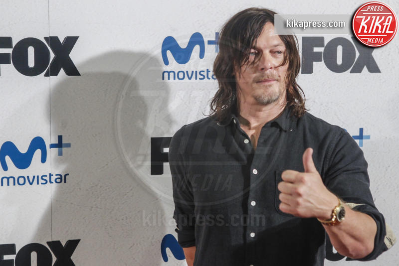 Andrew Lincoln, Jeffrey Dean Morgan, Greg Nicotero, Norman Reedus - Madrid - 09-03-2017 - The Walking Dead 7, questa sera il gran finale: chi morirà?