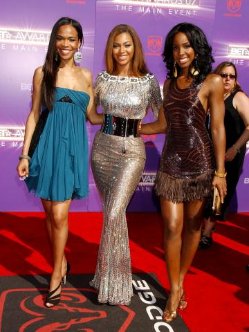 Michelle Williams, Kelly Rowland, Beyonce Knowles - Los Angeles - 26-06-2007 - Matrimonio a sorpresa per la bella Beyonce e il cantante rap Jay Z