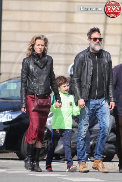 Jeffrey Dean Morgan Moglie E Figlio The Walking
