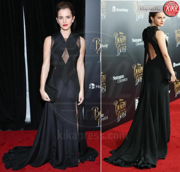 Emma Watson - 14-03-2017 - Emma Watson, La Bella in nero alla première newyorchese