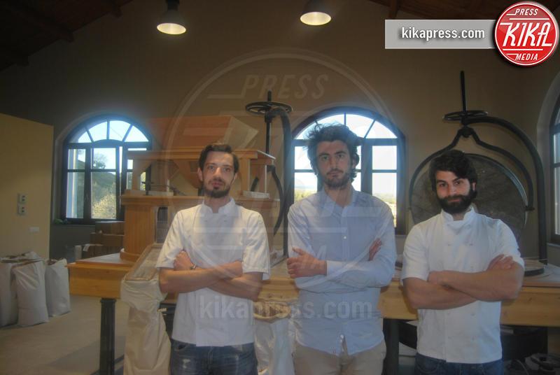 santo pate, simone carsico, stefano caccavari - 12-03-2017 - Da Londra tornano in Italia per lavorare al Mulino Bio