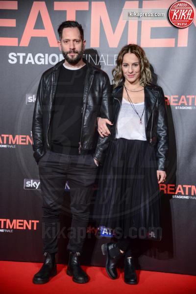 Arianna Mattioli, Lorenzo Lavia - Roma - 15-03-2017 - In Treatment, Margherita Buy in cura da Sergio Castellitto
