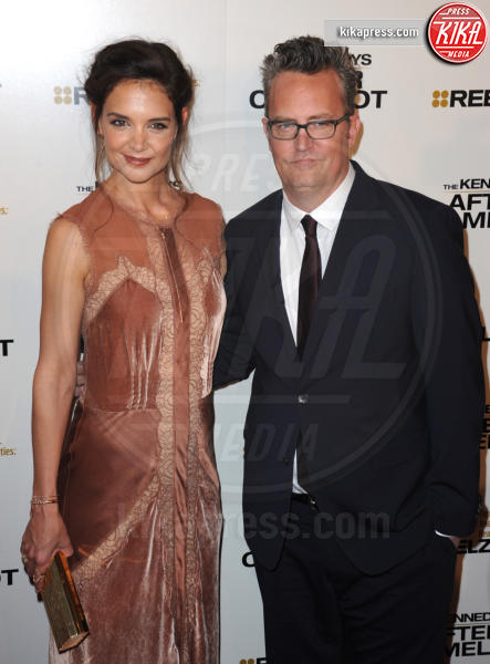 Katie Holmes, Matthew Perry - Beverly Hills - 15-03-2017 - Katie Holmes e Matthey Perry sono The Kennedys: after Camelot