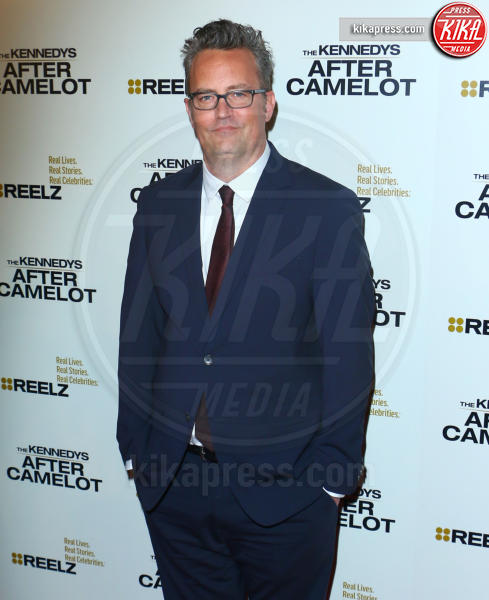 Matthew Perry - Los Angeles - 15-03-2017 - Katie Holmes e Matthey Perry sono The Kennedys: after Camelot
