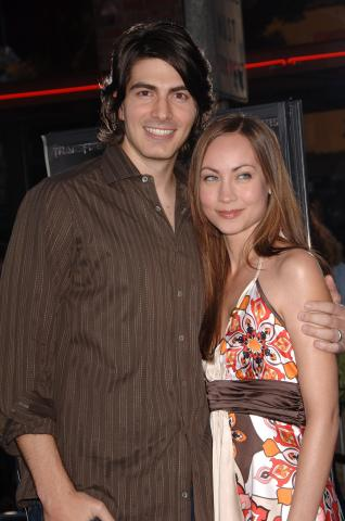 Courtney Ford, Brandon Routh - Los Angeles - 27-06-2007 - Brandon Routh, star di Superman Returns, si sposa