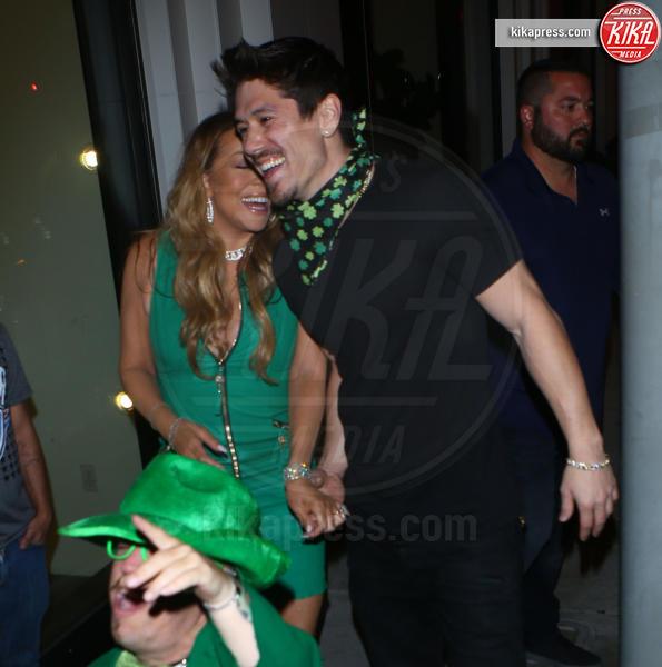 Bryan Tanaka, Mariah Carey - Hollywood - 11-07-2017 - A San Patrizio tutto si colora di verde, anche Mariah Carey