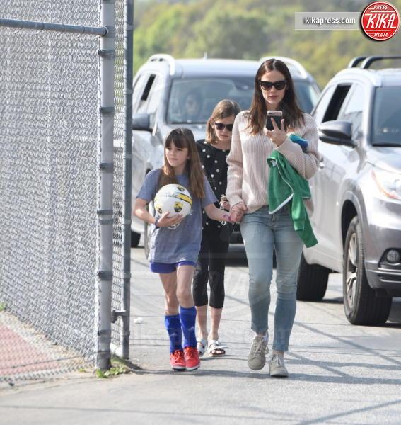 Seraphina Rose Elizabeth Affleck, Violet Anne Affleck, Jennifer Garner - Brentwood - 18-03-2017 - Seraphine Rose, tutta papà Ben Affleck!