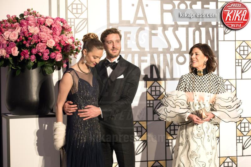 ballo della rosa, Principessa Carolina di Monaco, Pierre Casiraghi, Beatrice Borromeo - Monaco - 18-03-2017 - Beatrice e Charlotte, le Casiraghi regine del Ballo della Rosa