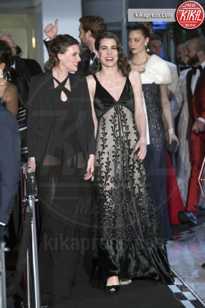 ballo della rosa, Juliette Maillot, Charlotte Casiraghi - Monaco - 18-03-2017 - Beatrice e Charlotte, le Casiraghi regine del Ballo della Rosa