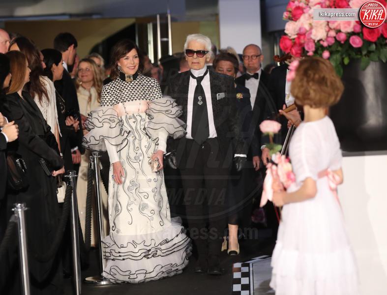 ballo della rosa, Principessa Carolina di Monaco, Karl Lagerfeld - Monaco - 18-03-2017 - Beatrice e Charlotte, le Casiraghi regine del Ballo della Rosa