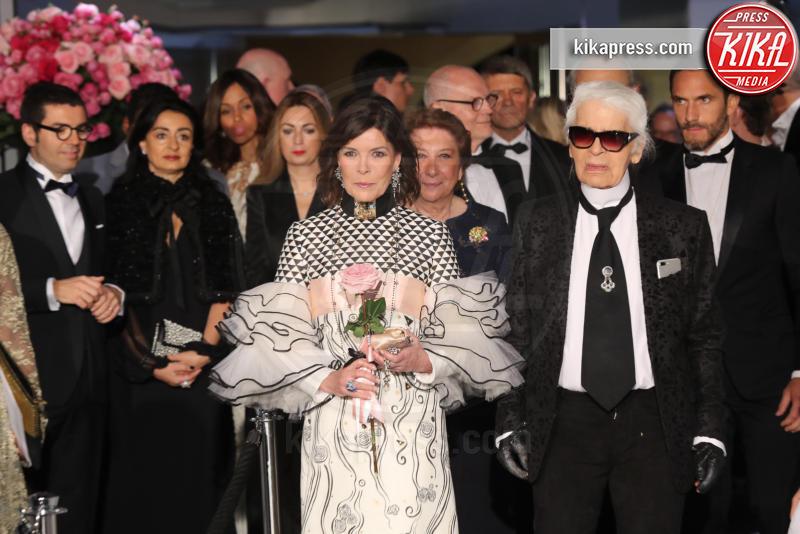 ballo della rosa, Principessa Carolina di Monaco, Karl Lagerfeld - Monaco - 18-03-2017 - Karl Lagerfeld, ecco le sue ultime volontà