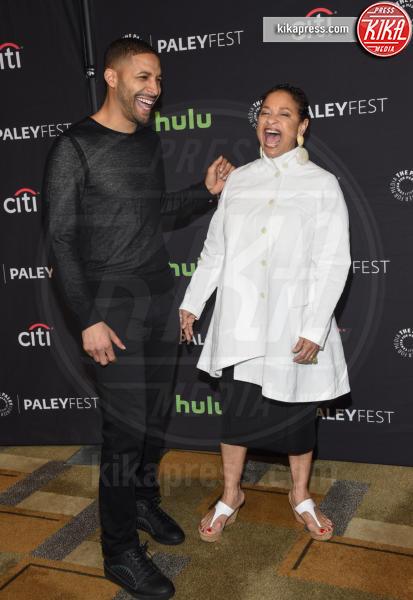 Norm Nixon Jr., Debbie Allen - Hollywood - 19-03-2017 - Ellen Pompeo debutta alla regia: