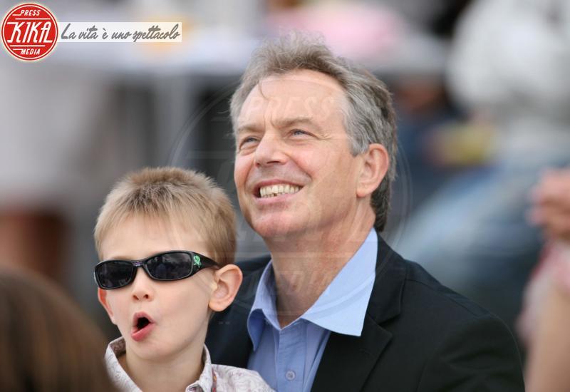 Leo Blair, Tony Blair - Londra - 28-07-2007 - Trump e gli altri: i vip in italia per una vacanza 5 stelle