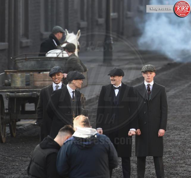 Cillian Murphy - Liverpool - 21-03-2017 - I primi scatti sul set della quarta stagione di Peaky Blinders