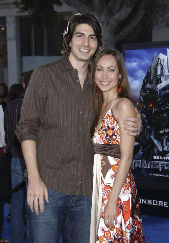 Courtney Ford, Brandon Routh - Westwood - 28-06-2007 - Brandon Routh, star di Superman Returns, si sposa